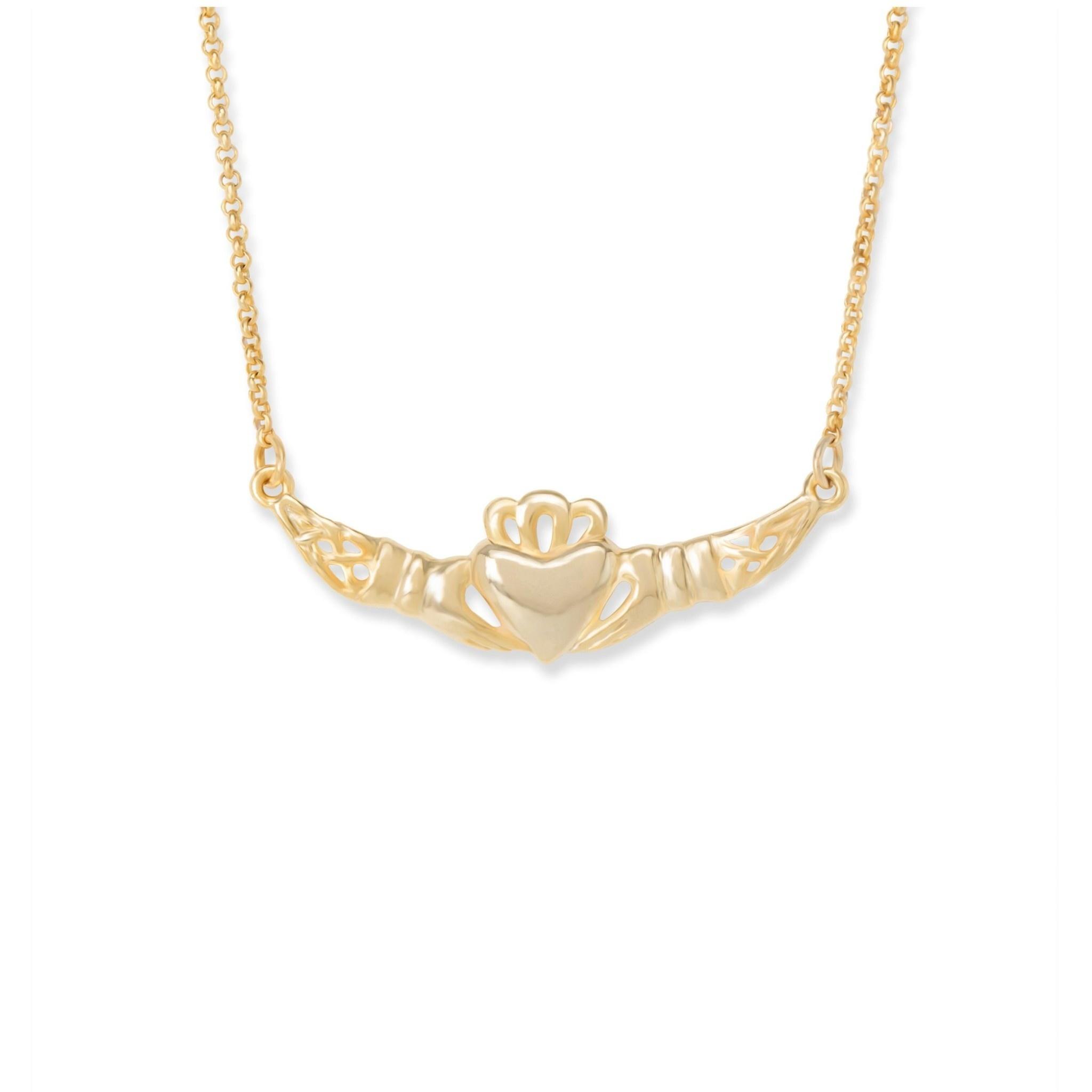 Love Loyalty Friendship Necklace Brass NK265G
