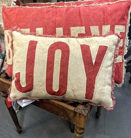 PILLOW JOY RED