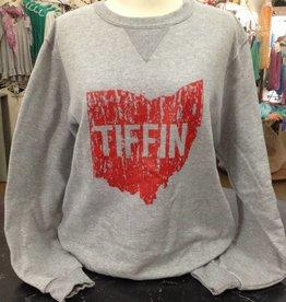 Ohio Tiffin Red Crewneck