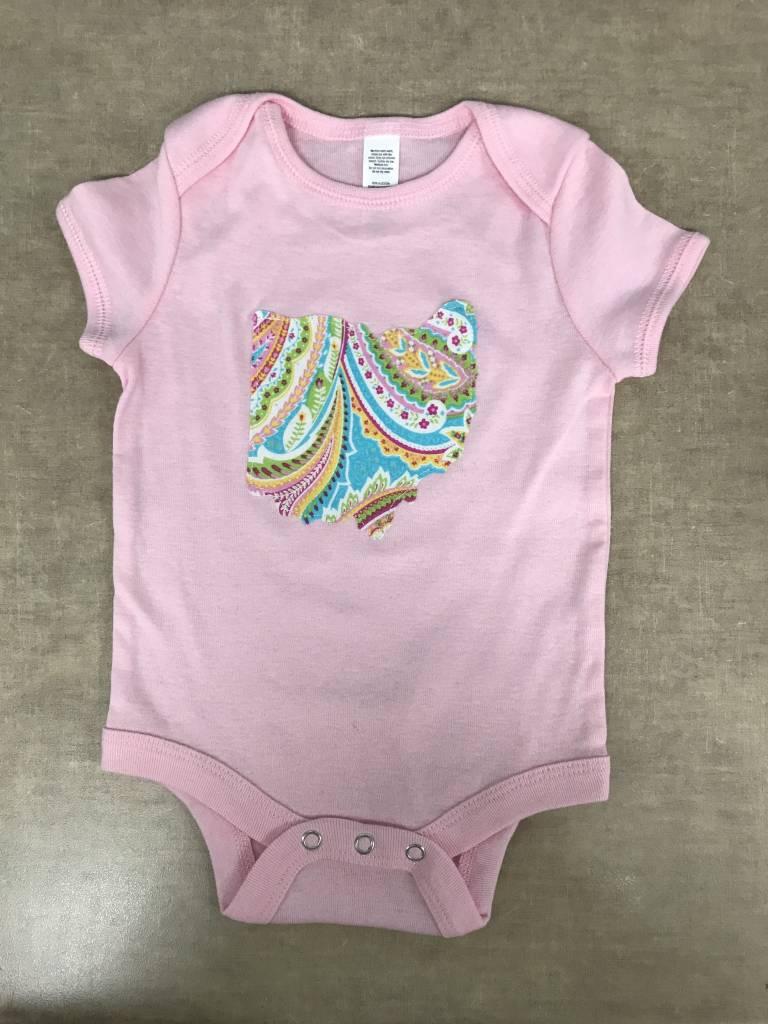 Baby Ohio Katarina Pink Onesie
