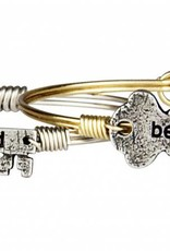 Be Kind Key Silver
