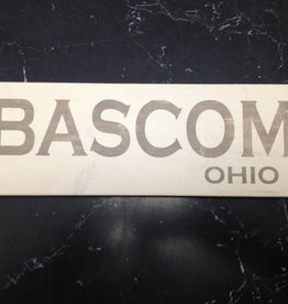 Bascom 4x12  Grey/Cream Sign