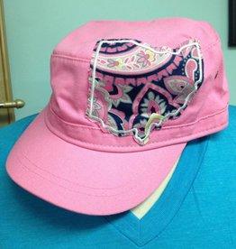 Roberta Ohio Cadet Hat Pink