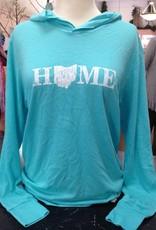 Home Aqua Long Sleeve T-Shirt Hoodie
