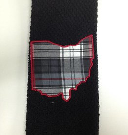 Carter Black Ohio Towel