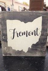 Fremont 11.5x11.5 Sign