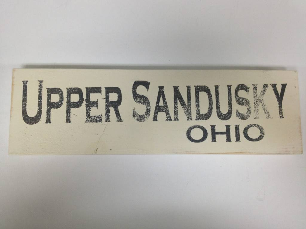 Upper Sandusky 4x12 Sign