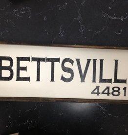 Bettsville 6x18 Framed