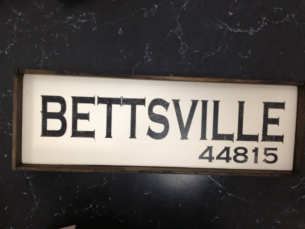 Bettsville 6x18 Framed
