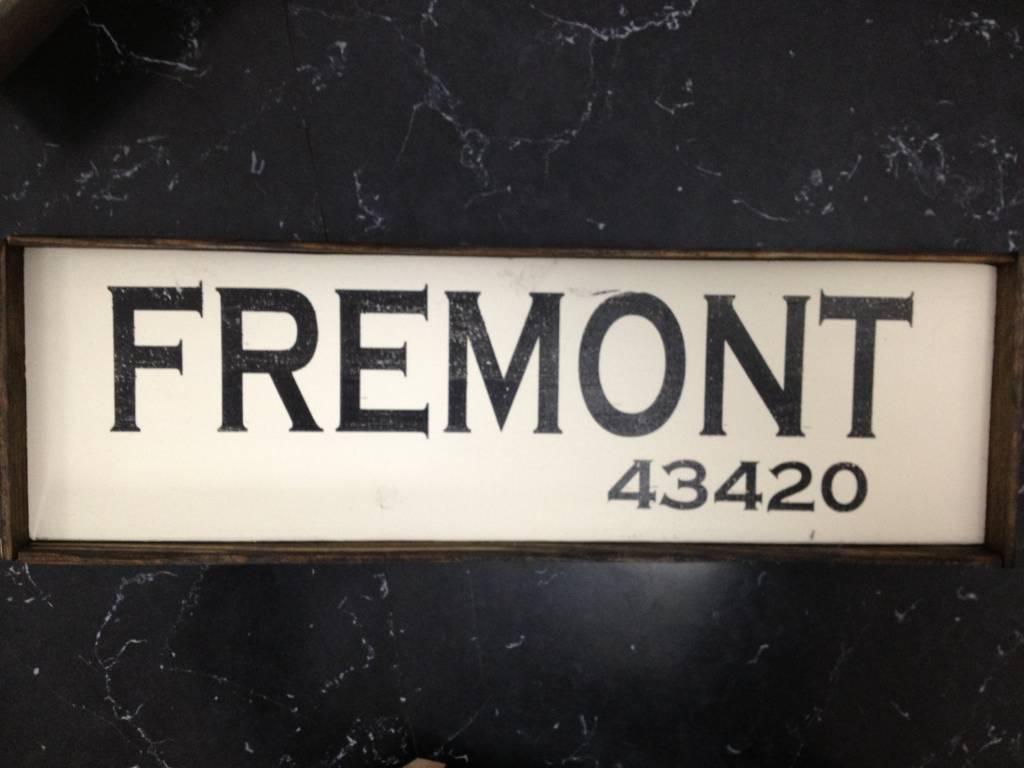 Fremont 6x18 Framed