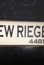 New Riegel 6x18 Framed