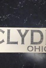 Clyde 4x12 Sign