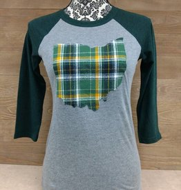 Ohio Plaid Wilkins Green Sleeve