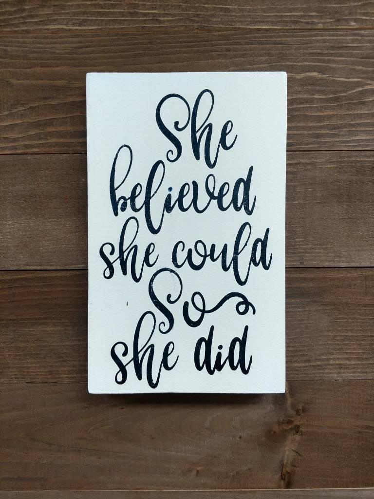 6x9 she believed