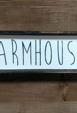 4X12 Farmhouse Framed Sign