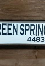 Green Springs 6x18 Framed