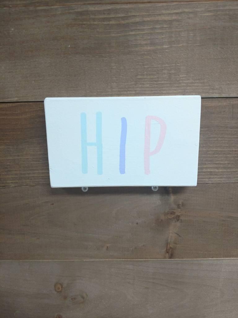 3x5 HIP Cream Sign