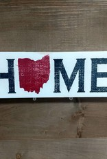 4X12 Home  Red Sign