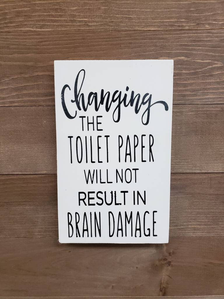 6x9 Changing the Toilet Paper