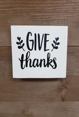 6X6 Give Thanks