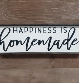 6X18 HAPPINESS IS HOMEMADE