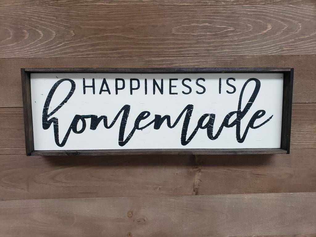 photo relating to Happiness is Homemade called 6X18 Joy IS Selfmade