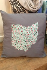 16X16 PILLOW Megan Grey