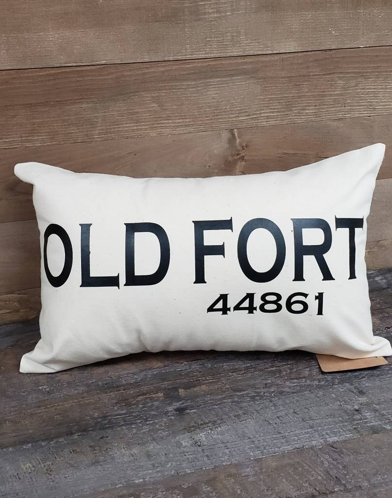 City Zip Pillow Old Fort