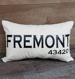 City Zip Pillow Fremont