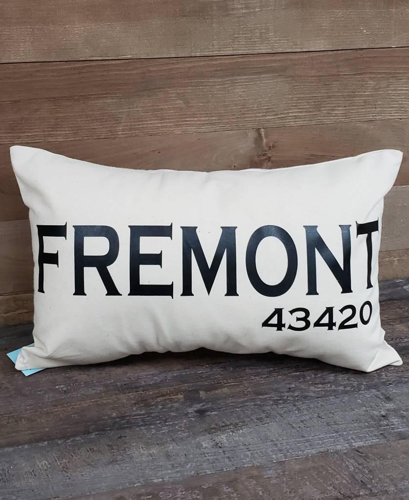 City Zip Pillow Fremont