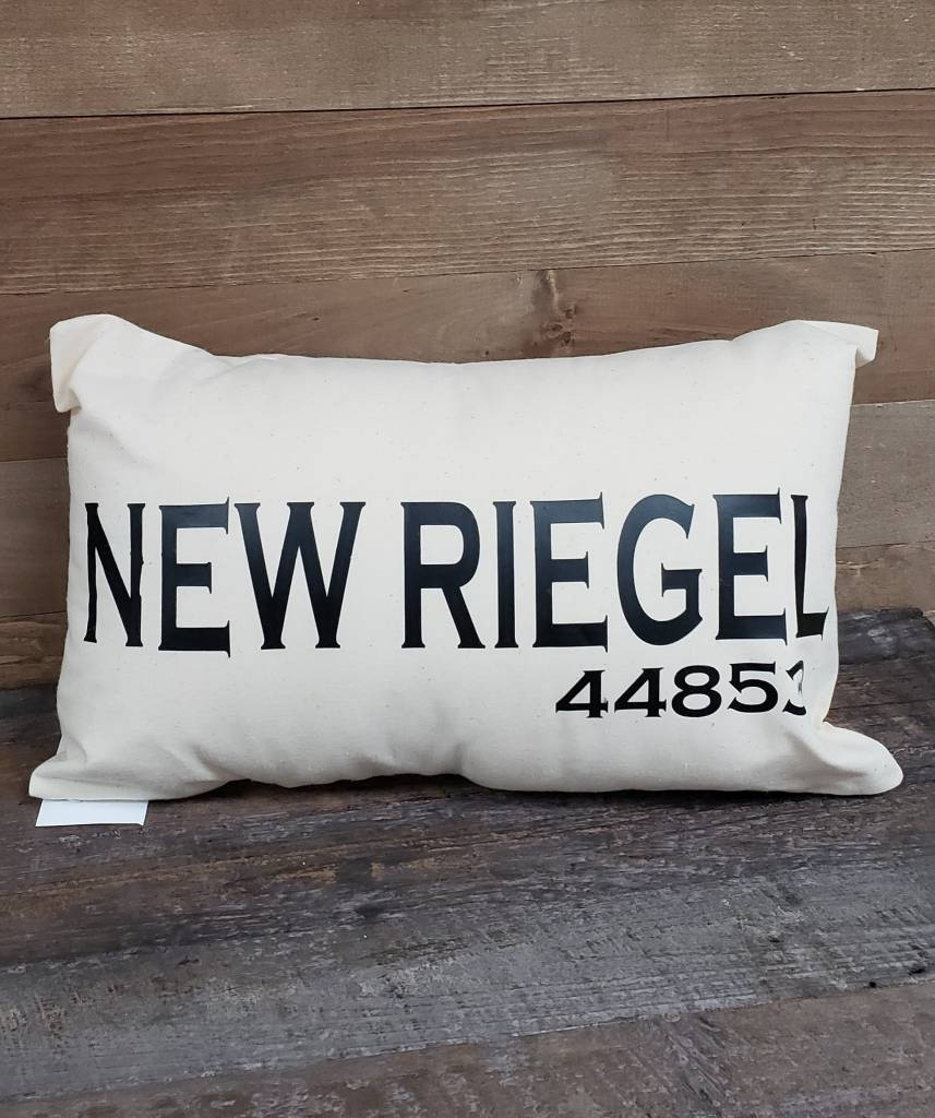 City Zip Pillow- New Riegel