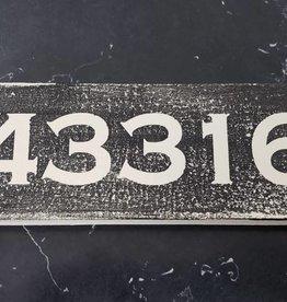 43316 Black 2.5x7