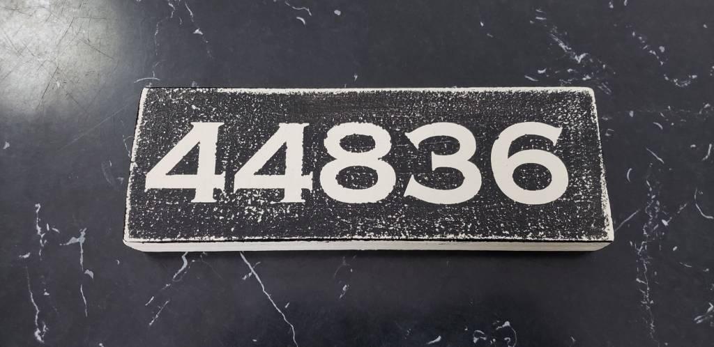 44836 Black 2.5x7