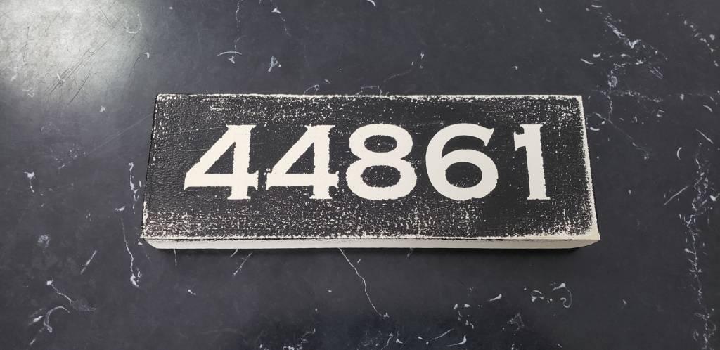 44861 Black 2.5x7