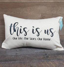 This Is Us Pillow 12x18