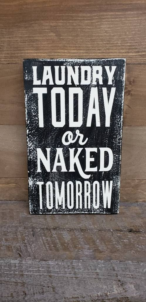 6X9 Laundry today naked tom black