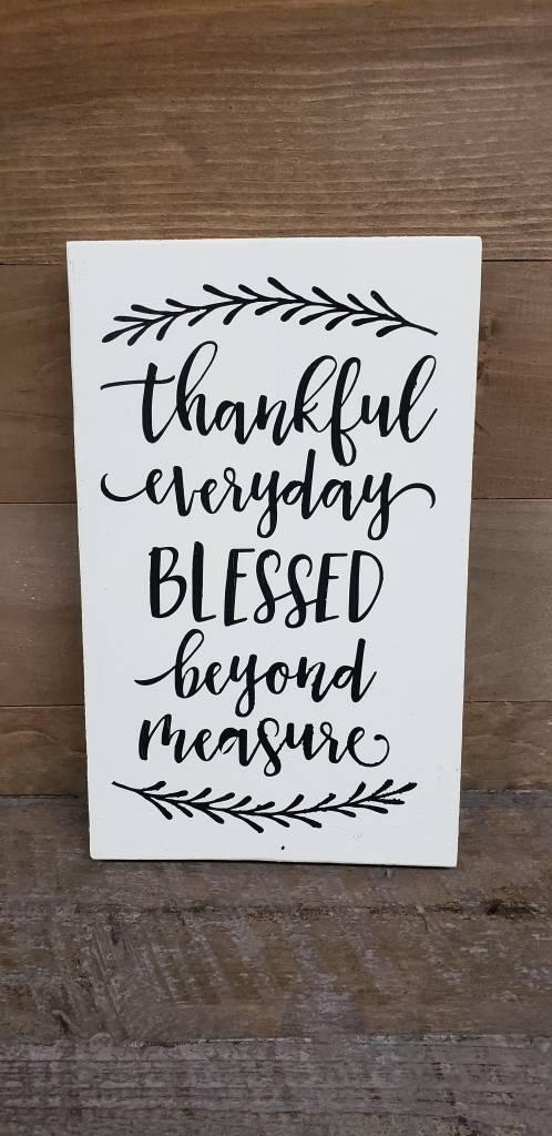 6x9 thankful everyday