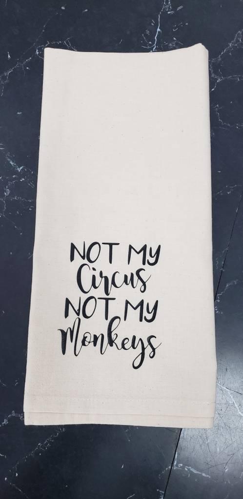 Not My Circus Tea Towel