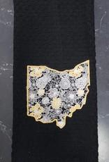 Phyllis Black Ohio Towel