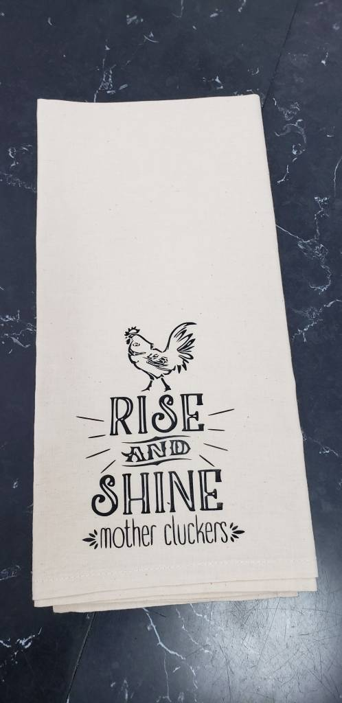 Rise and Shine Tea Towel
