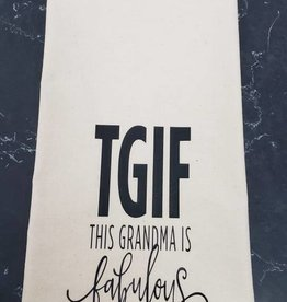 TGIF Tea Towel