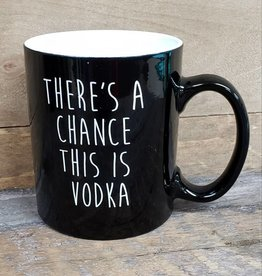 This is Vodka Black Mug