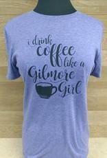 Gilmore Girls Black Font Crew Neck