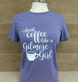 Gilmore Girls White Font Crew Neck
