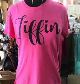 Tiffin Black Font Crew Neck