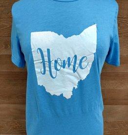 Home Ohio w/ White Crew Neck