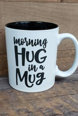 Morning Hug in a Mug White Mug