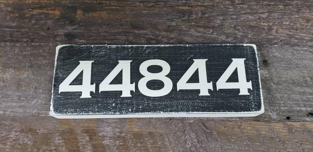 44844 Black 2.5x7