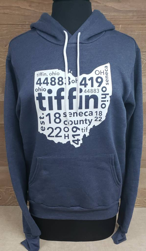 Tiffin 2017 Navy Sweatshirt
