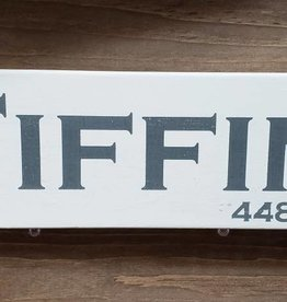 Tiffin 4x12 Grey/Cream  Sign